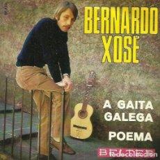 Discos de vinilo: BERNARDO XOSE. SINGLE. SELLO BELTER. EDITADO EN ESPAÑA. AÑO 1970. Lote 74570559