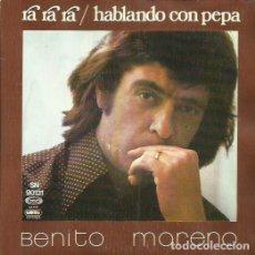Discos de vinilo: BENITO MORENO. SINGLE. SELLO MOVIEPLAY. EDITADO EN ESPAÑA. AÑO 1974. Lote 74571143