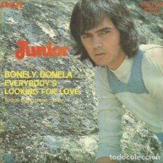 Discos de vinilo: JUNIOR. SINGLE PROMOCIONAL. SELLO RCA VICTOR. EDITADO EN ESPAÑA. AÑO 1972. Lote 74572231