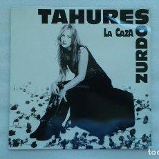 Discos de vinilo: TAHURES ZURDOS - LA CAZA LP 1994. Lote 74574687