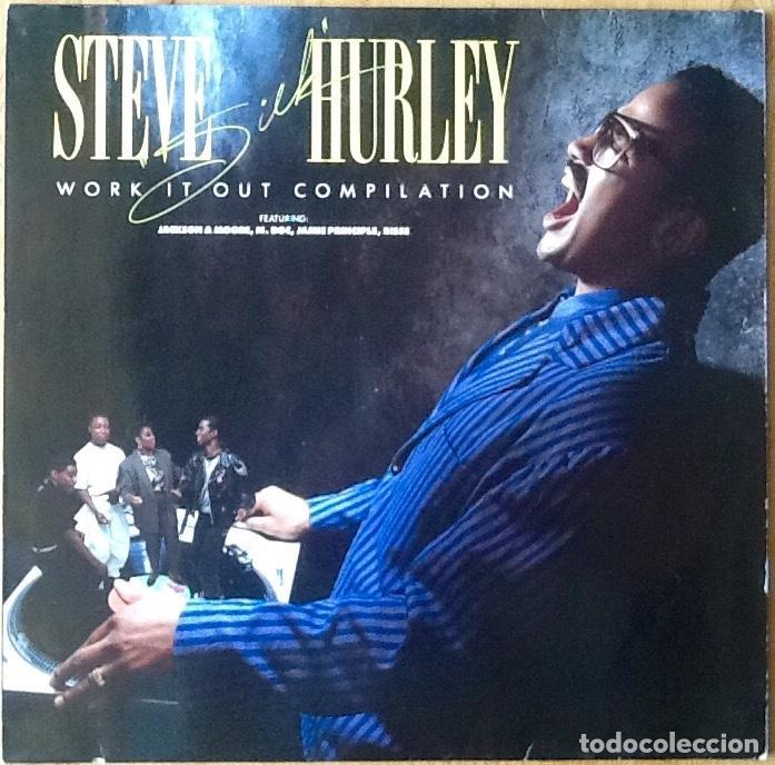 STEVE SILK HURLEY : WORK IT OUT COMPILATION [DEU 1989] LP/COMP (Música - Discos - LP Vinilo - Techno, Trance y House)