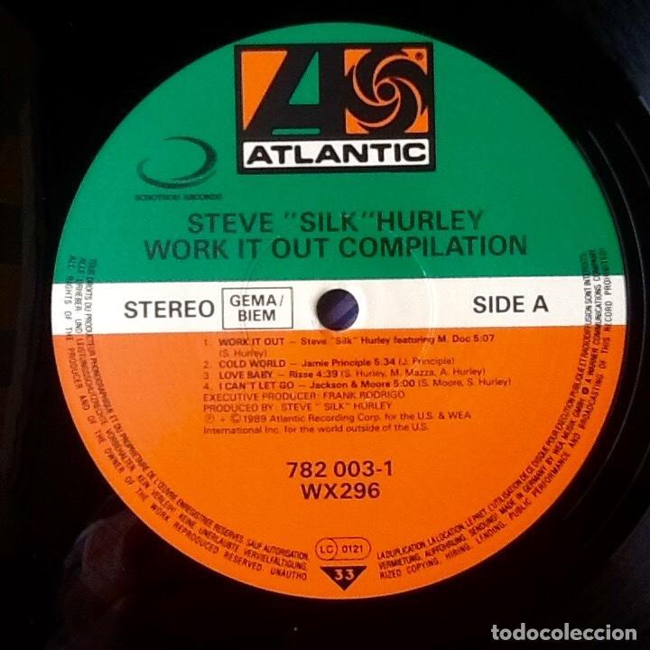 Discos de vinilo: STEVE SILK HURLEY : WORK IT OUT COMPILATION [DEU 1989] LP/COMP - Foto 3 - 74588679