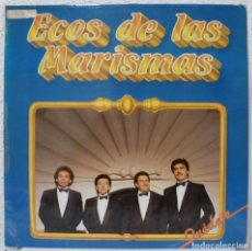 Discos de vinilo: ECOS DE LAS MARISMAS - QUEDATE (LP FONOMUSIC 1987). Lote 74594407