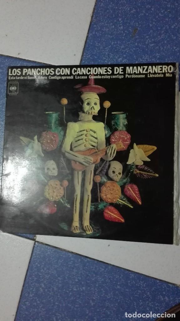 LOS PANCHOS CON CANCIONES DE MANZANERO (Música - Discos - LP Vinilo - Grupos y Solistas de latinoamérica)