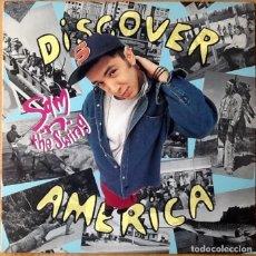 Discos de vinilo: SAM 'N' THE SWING : DISCOVER AMERICA [USA 1993]. Lote 74609951