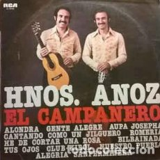 Discos de vinilo: HNOS. ANOZ-EL CAMPANERO, RCA CAMDEN-CL-35103. Lote 74609979