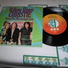 Discos de vinilo: YELLOW RIVER CHRISTIE DOWN THE MISSISSIPPI LINE. Lote 74613259