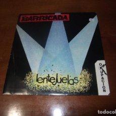 Discos de vinilo: BARRICADA-LENTEJUELAS / OCUPACION / SOÑUA-1985-. Lote 74617927