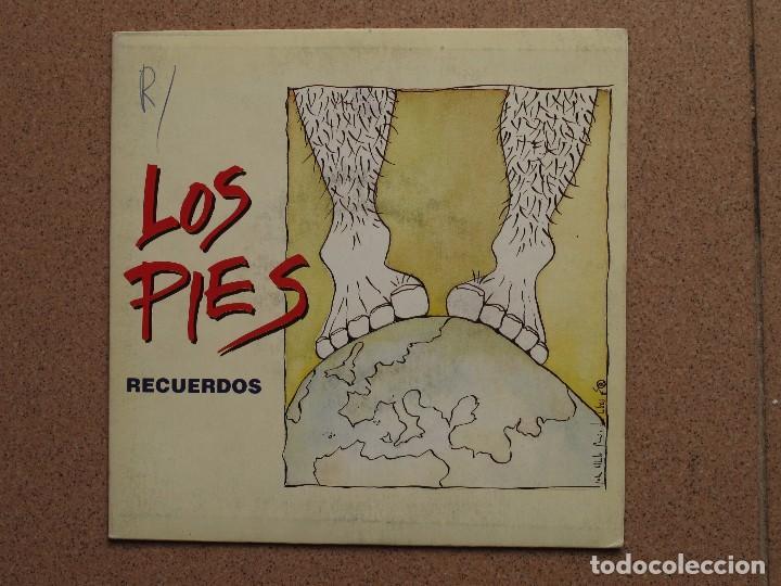 LOS PIES - RECUERDOS + DIJE ¡OH! (Música - Discos - Singles Vinilo - Grupos Españoles de los 90 a la actualidad)