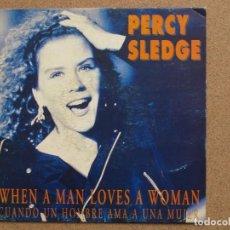 Discos de vinilo: PERCY SLEDGE - WHEN A MAN LOVES A WOMAN - DISCO PROMOCIONAL A UNA SOLA CARA. Lote 74622443