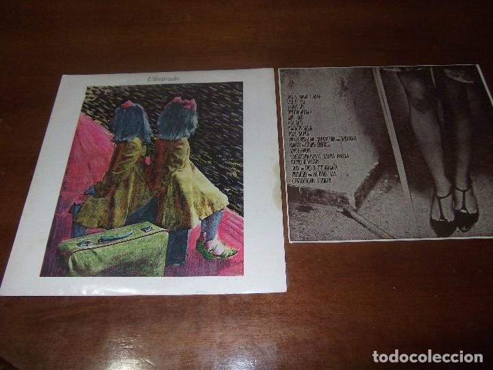 ULTRATUITA SANGRE Y ARENA FRIO SINGLE 1988 DDOMESTIC - NEW WAVE, SYNTH-POP-CON HOJA- (Música - Discos - Singles Vinilo - Grupos Españoles de los 90 a la actualidad)