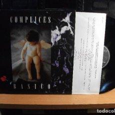 Discos de vinilo: COMPLICES BASICO LP SPAIN 1994 PDELUXE. Lote 74633355