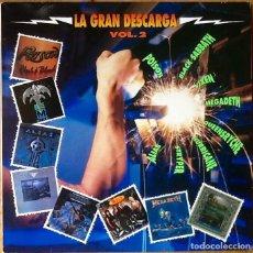 Discos de vinilo: V / A : LA GRAN DESCARGA VOL. 2 [ESP 1990]. Lote 74638731