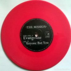 Discos de vinilo: THE MISSION: EVANGELINE / ANYONE BUT YOU, SINGLE PLAYGROUND RECORDINGS PGND 001. UK, 2001. UNPLAYED.. Lote 74666839
