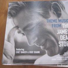 Discos de vinilo: CHET BAKER & BUD SHANK - THEME MUSIC FOMR THE JAMES DEAN STORY (1956) - LP VINYL PASSION 2016 NUEVO. Lote 74675775