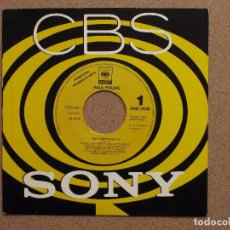 Discos de vinilo: PAUL YOUNG - DON'T DREAM IT'S OVER - DISCO PROMOCIONAL DE UNA SOLA CARA. Lote 74681463