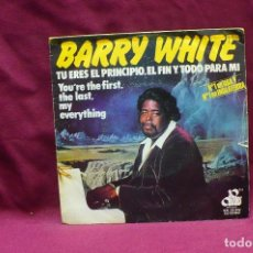 Discos de vinilo: BARRY WHITE, YOU'RE THE FIRTS THE LAST MY EVERYTHING, MORE THAN ANYTHING YOU'RE MY EVERYTHING, 1974.. Lote 74695823