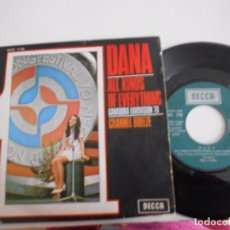 Discos de vinil: DANA-SINGLE ALL KINDS OF EVERYTHING-EUROVISION '70. Lote 74713831