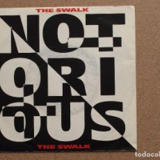 Discos de vinilo: NOTORIOUS - THE SWALK + EYES OF THE WORLD. Lote 74720651