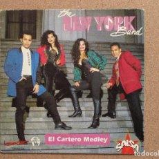 Discos de vinilo: THE NEW YORK BAND - EL CARTERO DE MEDLEY - DISCO PROMOCIONAL. Lote 74727303