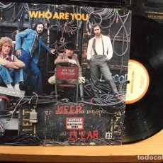 Discos de vinilo: THE WHO WHO ARE YOU LP USA 1978 PDELUXE. Lote 74732523