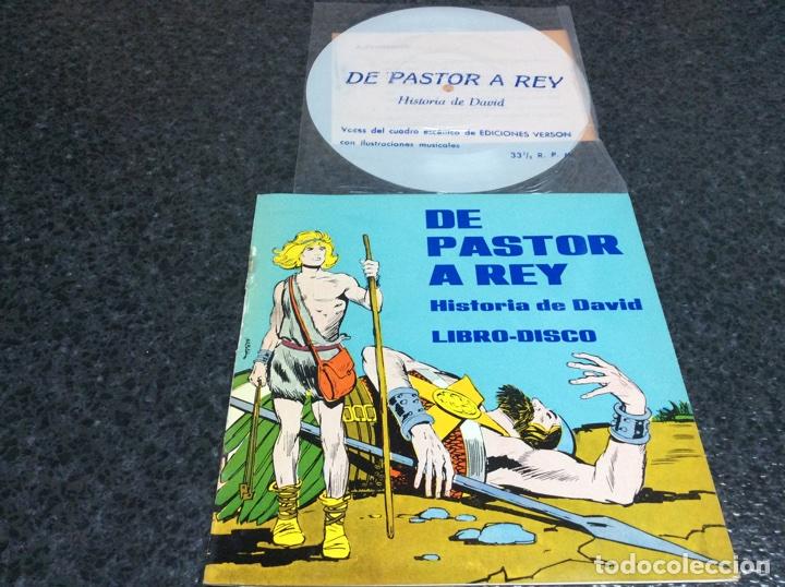 LIBRO-DISCO, DE PASTOR A REY, HISTORIA DE DAVID - CONTIENE VINILO (Música - Discos - LPs Vinilo - Música Infantil)