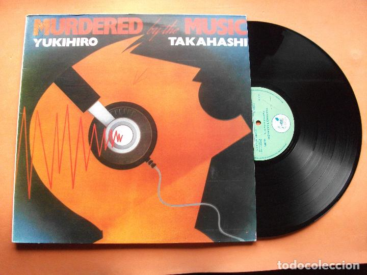 YUKIHIRO TAKAHASHI BY THE MUSIC LP SPAIN 1982 PDELUXE (Música - Discos - LP Vinilo - Techno, Trance y House)