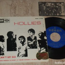 Discos de vinilo: THE HOLLIES - IF I NEEDED SOMEONE I CAN'T LET GO + 2 - EP SPAIN 1966 +FOTO. Lote 74739155
