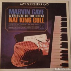 Discos de vinilo: MARVIN GAYE..A TRIBUTE TO THE GREAT NAT KING COLE.(MOTOWN 1986). Lote 74756335
