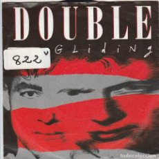 Disques de vinyle: DOUBLE / GLIDING / LAKES IN THE DESERT (SINGLE 1987). Lote 74762627