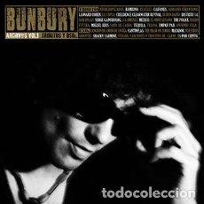 Discos de vinilo: BUNBURY - ARCHIVOS VOL I - TRIBUTOS Y B.S.O. - EDICION VINILO - 4 LPS + 2 CD - A ESTRENAR. Lote 161035248