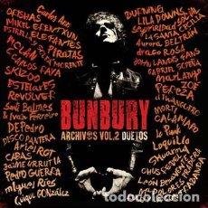 Discos de vinilo: BUNBURY - ARCHIVOS VOL II - DUETOS. - EDICION VINILO - 4 LPS + 3 CD - A ESTRENAR. Lote 177219718
