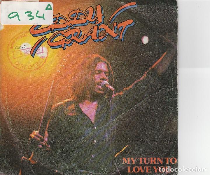 EDDY GRANT / MY TURN TO LOVE YOU / FEEL THE RHYTHM (SINGLE PROMO 1980) (Música - Discos - Singles Vinilo - Reggae - Ska)