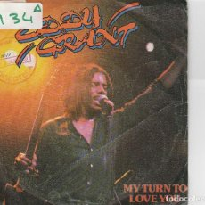 Discos de vinil: EDDY GRANT / MY TURN TO LOVE YOU / FEEL THE RHYTHM (SINGLE PROMO 1980). Lote 74793467