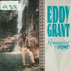 Dischi in vinile: EDDY GRANT / ROMANCING THE STONE (SINGLE PROMO 1984) SOLO CARA A. Lote 74793855