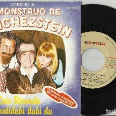 Dischi in vinile: EL MONSTRUO DE SANCHEZSTEIN SINGLE LUIS RICARDO / CANTIDUBI DUBI DU 1978. Lote 74840179