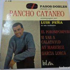 Discos de vinilo: PANCHO CATANEO-LUIS PEÑA-EL POROMPOMPERO +3 -EP-BEL AIR-FRANCIA-N. Lote 74845355