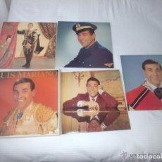 Discos de vinilo: CAJA 4 LP 33 RPM / LUIS MARIANO / EDITADO POR EMI PATHE. Lote 74850403
