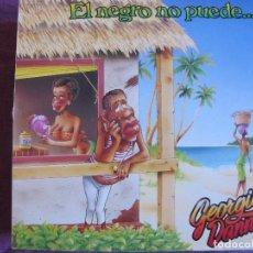 Discos de vinilo: LP - GEORGIE DANN - EL NEGRO NO PUEDE (PROMOCIONAL ESPAÑOL, RCA RECORDS 1987). Lote 74858943