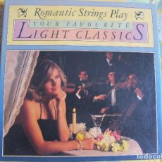 Discos de vinilo: LP - ROMANTIC STRINGS PLAY-YOUR FAVORITES-LIGHT CLASSICS - VARIOS (CAJA CON 8 LP'S). Lote 74868247