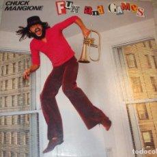 Discos de vinilo: FUN AND GAMES - CHUCK MANGIONE. Lote 74870815