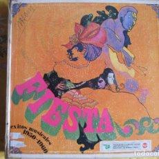 Discos de vinilo: LP - FIESTA, EXITOS MUSICALES 1950-1960 - VARIOS (CAJA CON 10 LP'S, SPAIN, READER'S DIGEST 1968). Lote 74871919