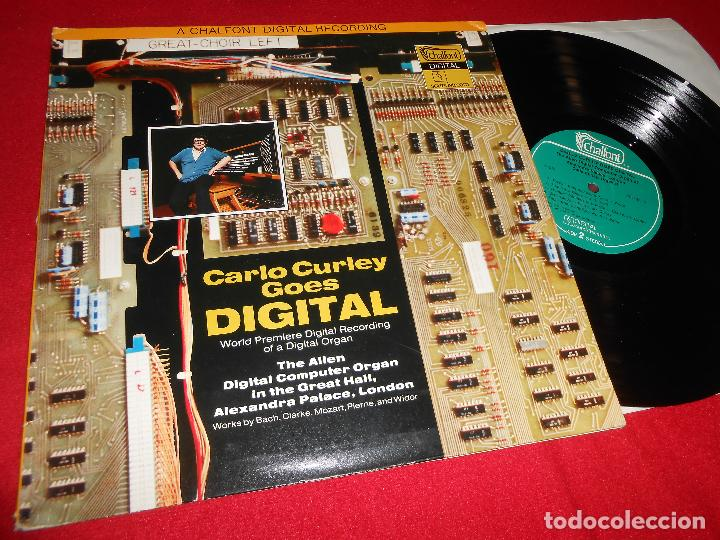 CARLO CURLEY GOES DIGITAL Allen digital computer organ Alexandra Palace LP  1979 Chalfont ENGLAND UK