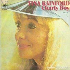 Discos de vinilo: TINA RAINFORD. SINGLE. SELLO CBS. EDITADO EN ESPAÑA. AÑO 1977. Lote 74945223