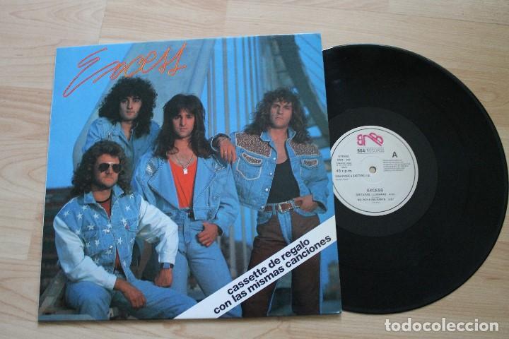 EXCESS SIGO AL TIEMPO MAXI SINGLE (Música - Discos de Vinilo - Maxi Singles - Heavy - Metal)