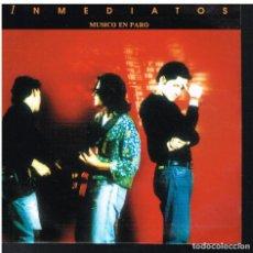 Disques de vinyle: INMEDIATOS - MUSICO EN PARO - SINGLE 1991 - PROMO - BUEN ESTADO. Lote 74978963