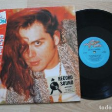 Discos de vinilo: MICHAEL LONDON MEASURED IN INCHES MAXI SINGLE RARO. Lote 74979159