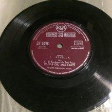 Discos de vinilo: SINGLE VINILO. SEVILLA DE ALBÉNIZ, MOLINERO DE FALLA Y GOYESCAS POR ARTHUR RUBINSTEIN. 1961.. Lote 74981131