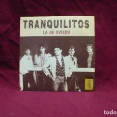 Discos de vinilo: TRANQUILITOS, LA DE OVIEDO, QUE BONITO ES, TWINS, DEL 1989. Lote 74991787