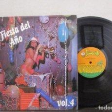 Discos de vinilo: LA FIESTA DEL AÑO VOL.4 1983 OYE GUSTAVO ROJAS ESTAS PILLAO T86 VG+ COLOMBIA. Lote 74994171